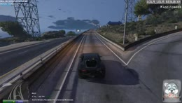 Pit stop in the middle of a chase