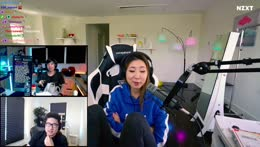 fuslie shows her reaction time