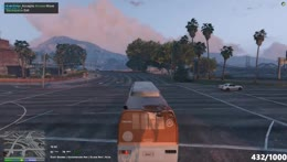 locals helping out bus getaway