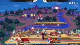 Sheik: F-tilt drag down up air F-tilt D-air up smash