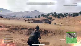 Wow don't know How I hit that sniper shot haha then the nice teammate save! PUBG
