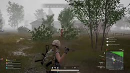 Kobe with the three! We wiped that squad! PUBG