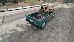 Frank casts 'crash the car'