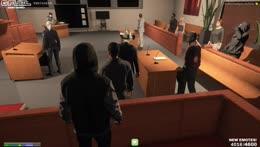 tony smacks buddha in court