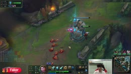 T1 Faker's 500IQ combo outplayed Irelia.
