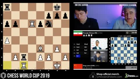 16 years old Firouzja's impressive performance VS Liren amazes Hansen and Seirawan