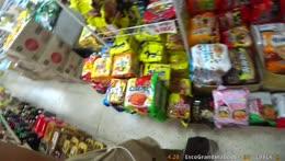 monkey in supermarket =D