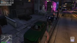 Bullet gets run over