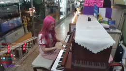 Assclap in the music store