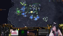 Playing SC2 via OBS capture.