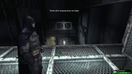 Batman rescues a criminal. Sort of.