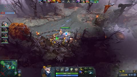 meepo aghs level 18 power spike