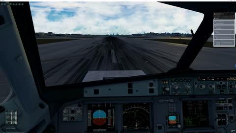 Toliss A319 Takeoff sound by BSS