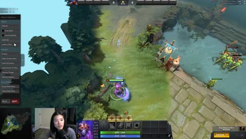 Antimage's Blink outranges rupture check distance.