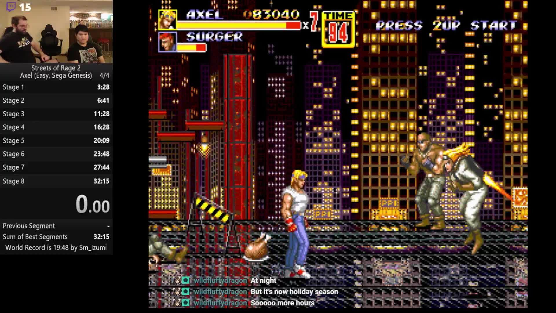 Saihawkeye Jet Strat Streets Of Rage 2 Twitch