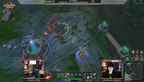 Faker's style of flaming