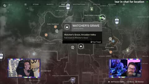 Xur location and inventory 12/13