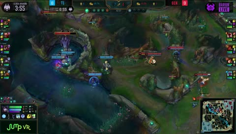 Teddy gets a Aphelios triple kill on Gen.G! LCK Spring 2020 Week 2