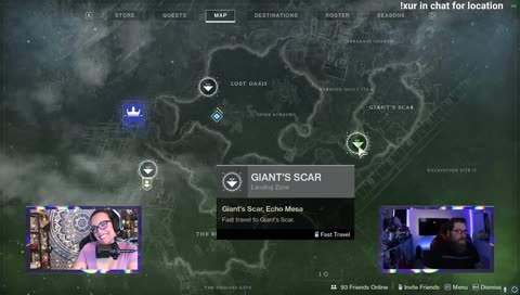 Xur Location and Inventory 3/20