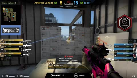 Asterius garante round decisivo no último segundo | draft5