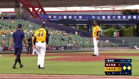 中信兄弟 棒球打架