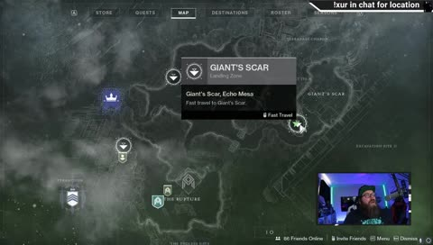 where is xur? 5/15 location and inventory