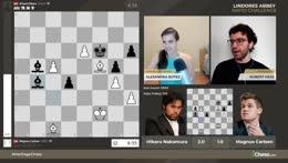 5Head Hikaru defeats Magnus Carlsen, tie breaker tomorrow