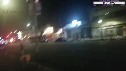 LA Streamer shot at with beanbag rounds from LAPD