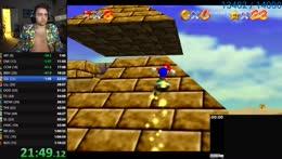 Mizkif hypes up his god tier Mario moves