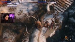 Sasha gets thrown off the cliff