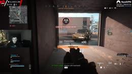 Train playing GTA in warzone