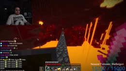 Cpt. Jack Sparrow escapes the Nether
