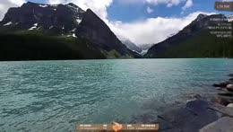 Lake Louise dip