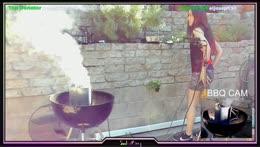 Where Sasha should sit during BBQ streaming