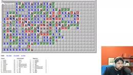 Chess GrandMaster plays Minesweeper