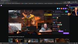 Quin69 on Asmon announcing his HC minecraft run