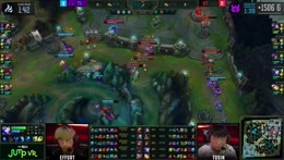 Clozer picks up two more kills to finish Game 1! 2020 LCK Summer Week 7