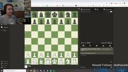 Mizkif being racist in chess