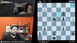 GMHikaru absolutely destroys Mizkif in Chess