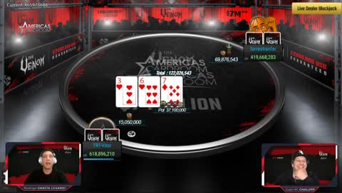MESA FINAL $2,650 The Venom - $7,000,000 Gtd - Americas Card Room
