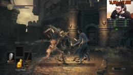 Hasan experiences Dark Souls 3