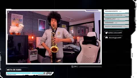 Epic Sax guy Jeff mestre