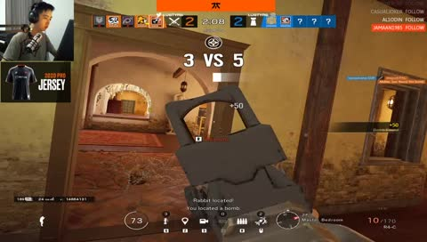 LustyR6 - Imagine cheating and losing a 1v5