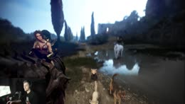 Soda and Vigor's first horse ride together <3