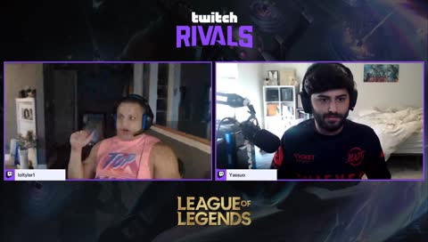 Yassuo going full BabyRage on T1 on Twitch Rivals