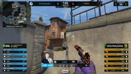 VINI - 3 Glock HS kills on the bombsite A offensive (pistol round)