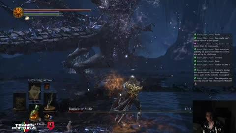 Seifer kills a dragon