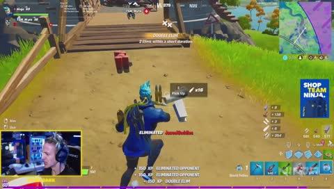 great play by ninja