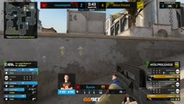 ropz - 2 quick Deagle kills on the bombsite A defense (2vs2 situation)