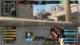 s1mple (CT) wins another 1vs2 situation (pre-plant)